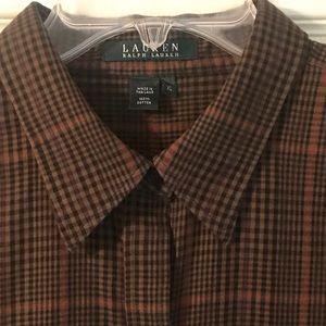 Lauren Ralph Lauren Button Down All Cotton XL